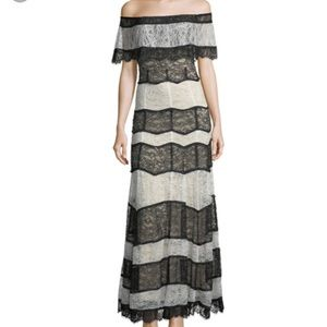 NWT - Alice + Olivia Lace Gown